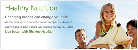 shaklee healthy nutrition business