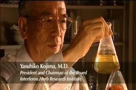 natural interferon discoverer dr yasuhiko kojima