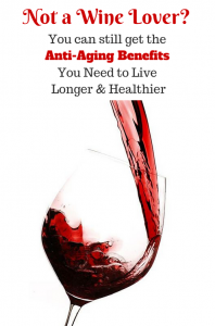 red wine antiaging benefits