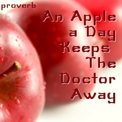 apple a day keeps the doctor away