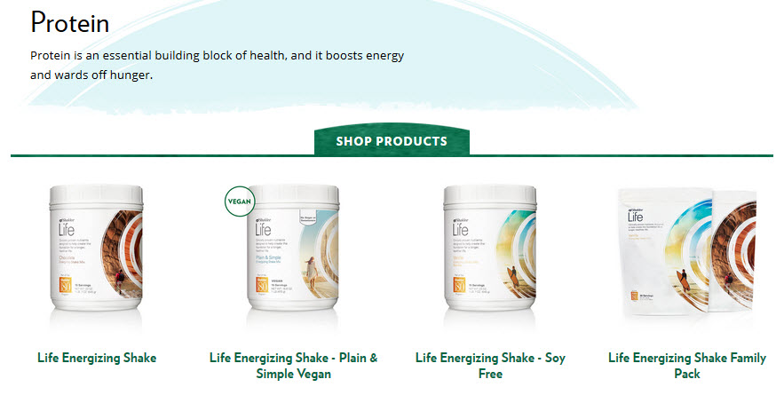Shaklee Protein Shakes