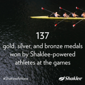 Shaklee Pure Performance Team 137 Medals