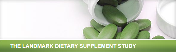 landmark dietary supplement study