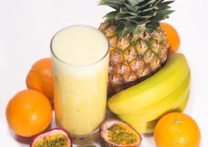 delicous, healthy protein shake