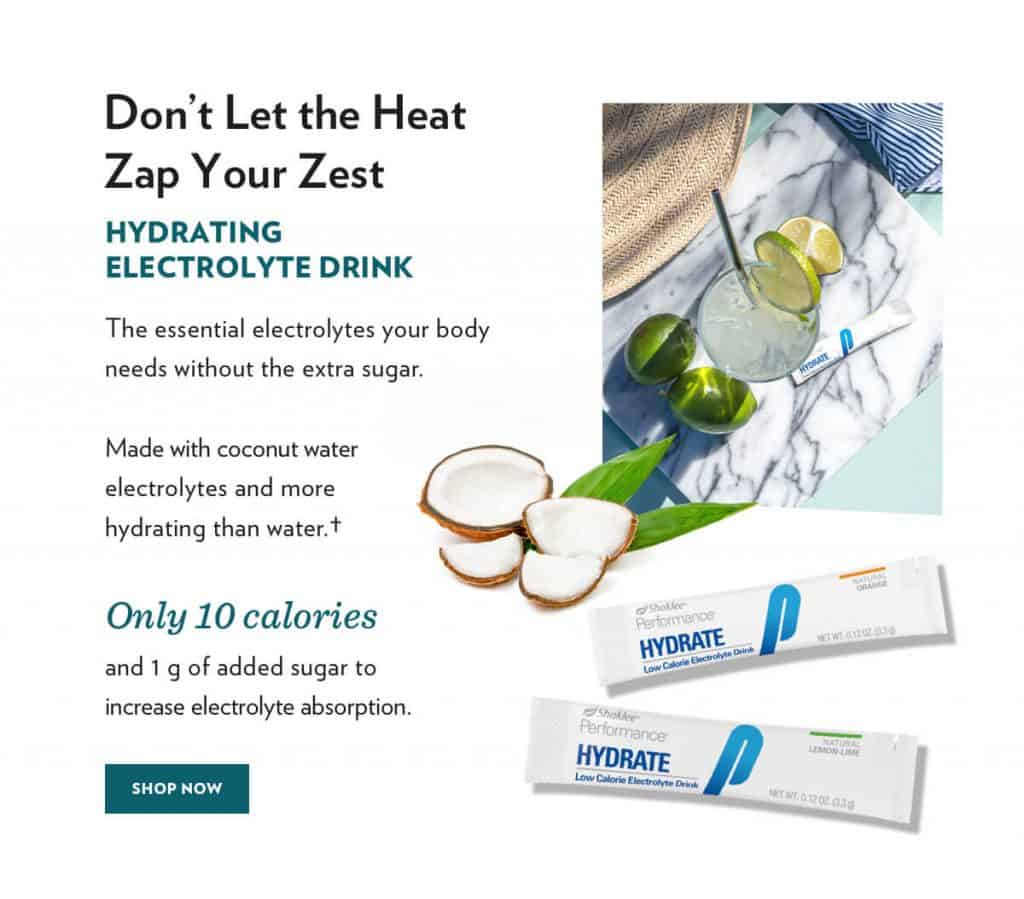 hydrate with electrolytes