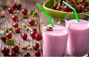 cherry cheesecake protein shake