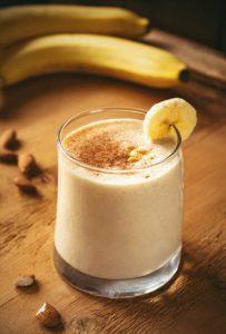 peanut butter banana protein shake