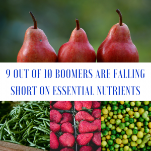 boomers low on nutrition