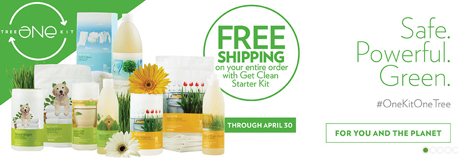 Shaklee Get Clean Starter Kit Free Shipping