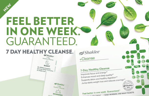 Shaklee 7 Day Cleanse