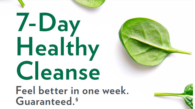 shaklee 7 day health cleanse