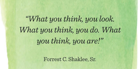 what you think you are quote