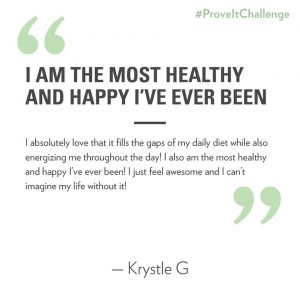 nutrition and health prove it challenge