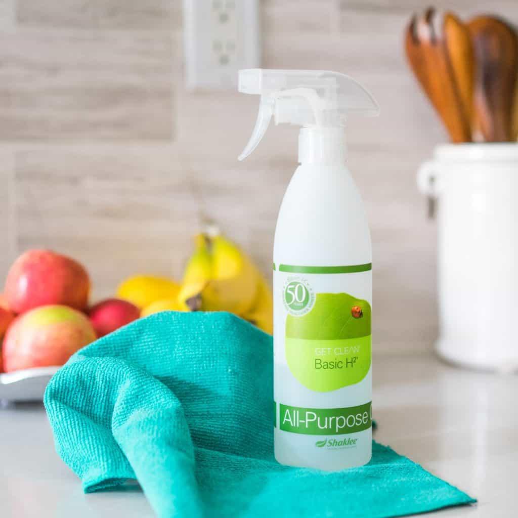 basic h shaklee green cleaner