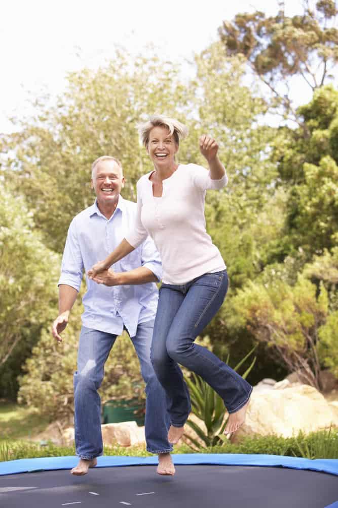 is trampoline exercise good for seniors